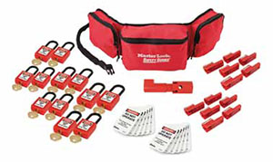 master lock companys new aircraft safety lockout kits are the aviation industrys first the kits include new electrical safety lockouttagout loto - Lock Out Tag Out Kits