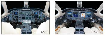 Universal Avionics Receives STC for InSight® Display System on the Cessna Citation VII