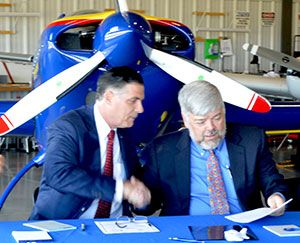 Housing for CCCC's Aviation Maintenance Technology Students Now Open at Bridgewater State University