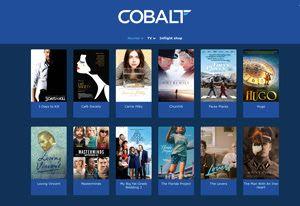 Cobalt Air In-Flight Entertainment Goes Live