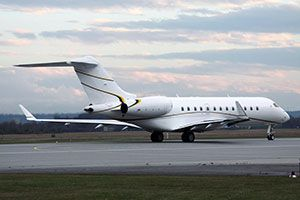 RUAG Fulfills 8C Check on Bombardier Global Express XRS Combined with Communication Technology Upgrade