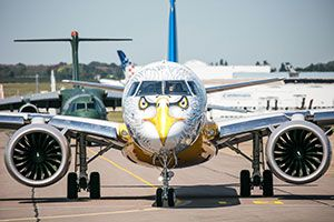 Aircraft-maker Embraer Goes Wild with AkzoNobel's Aerospace Coatings