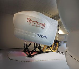 FlightSafety to Offer King Air 350 Training in Teterboro
