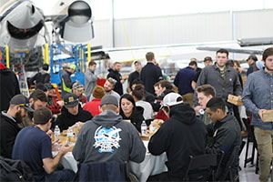 Duncan Aviation Hosts Successful Student Recruiting Event