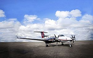 Baker Aviation Selected as Dealer for BLR Aerospace King Air Performance Upgrades