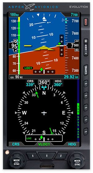 Evolution E5 EFI Approved for Installation into Aircraft Without a Panel-Mount GPS