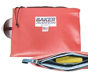 Baker Aviation Introduces ELT-sized HOT-STOP 'L' Fire Containment Solution