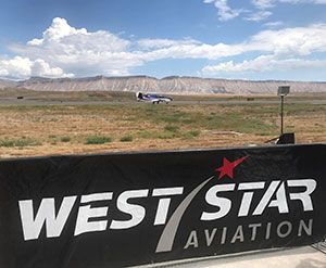 West Star Aviation Sponsors Grand Junction Air Show