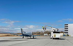 Duncan Aviation's Provo FBO Now Louie Alliance Memberand Offers De-Icing Services