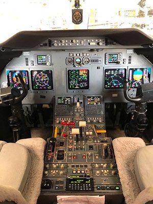 Trimec Aviation Delivers Universal Avionics-based FANS/CPDLC/LPV Solution to G200 Operators
