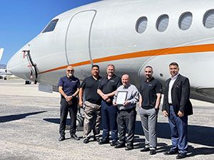Clay Lacy Earns EASA Part 145 Repair Station Certification