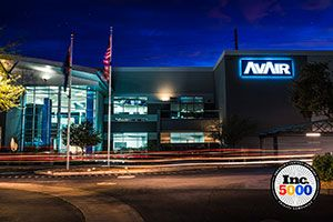 """AvAir Named on Inc. 5000 """"Fastest Growing Companies in America"""" List"""