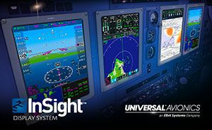 Universal Avionics Sees Strong Year for InSight™ Integrated Flight Deck Upgrades