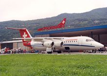 BAE Systems Commemorates 27 Years of BAe 146/Avro RJ Operations by Swiss