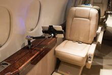 West Star Aviation Receives STC for Installing USB Cabin Charging Ports on Falcon 900/900EX Aircraft