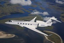 Fully Outfitted Gulfstream G500 Makes European Debut in Paris