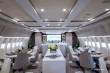 Greenpoint Delivers Crystal AirCruises VIP 777-200LR