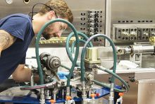 AEM Invests in High-Pressure, High-Flow Hydraulic Test Stand