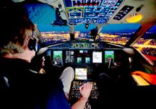 Jet Aviation Develops STC to Replace Cockpit Displays with DU-875 LCD Units