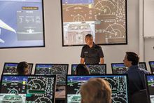 Gulfstream G500 Training Underway at FlightSafety's Savannah Learning Center