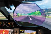 FlightSafety Now Offers Dassault FalconEye HUD in Dallas and Paris Simulators