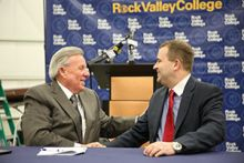 AAR's New Partnership with Rock Valley College to Enhance Aviation Maintenance Instruction and Students' Career Prospects