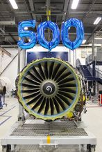 StandardAero Celebrates 500th CFM56-7B Delivery