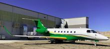 West Star Aviation Completes Custom Paint Job on Its First Embraer Praetor 600