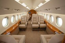 Falcon 900EX EASy Loses WeightWhile Gaining Seats with Creative Customization