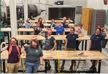 Rosie the Riveter with Aviation Ties Sends Masks to PIA