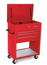 "Snap-On Industrial Introduces New 32"" Three-Drawer Roll Cart for Bulky Items"