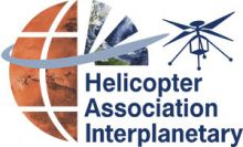 Helicopter Association Interplanetary Salutes First Flight of Mars Helicopter