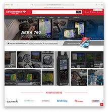 Gulf Coast Avionics Announces Launch of Improved Website