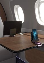 Embraer and INGENIO Aerospace Partner to Develop Table Tablet Holder for Phenom 300E Aircraft