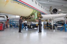 West Star Aviation East Alton Receives Authorized Service Center Status from Embraer on Legacy Aircraft